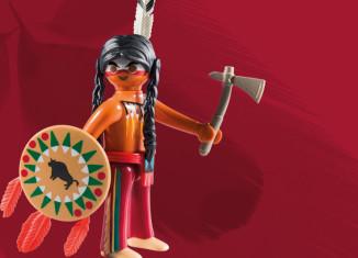 Playmobil - 5598v9 - Tomahawk Warrior