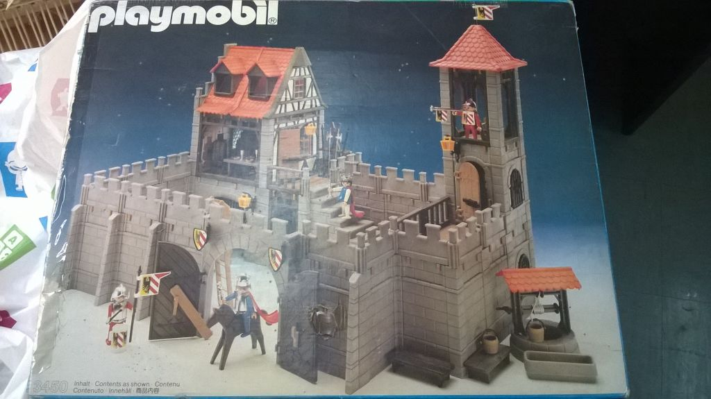 Playmobil 3450 - Large Castle - Box