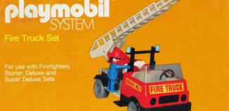 Playmobil - 077-sch - Fire Truck Set