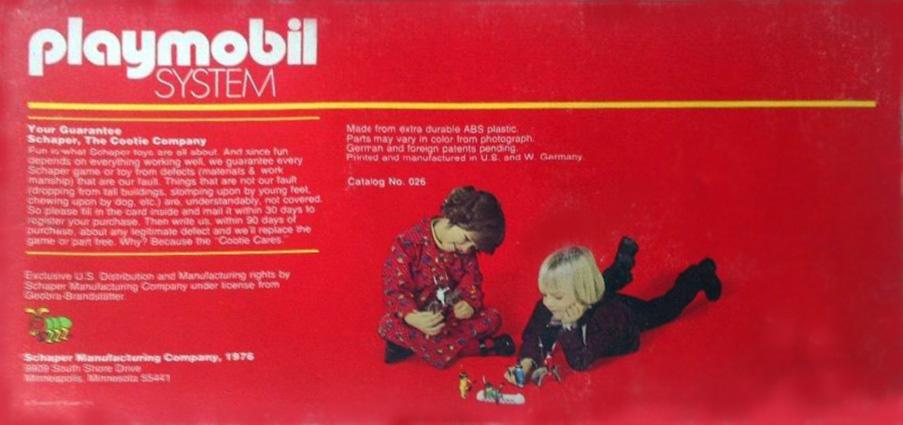 Playmobil 026-sch - Indian Starter Set - Box