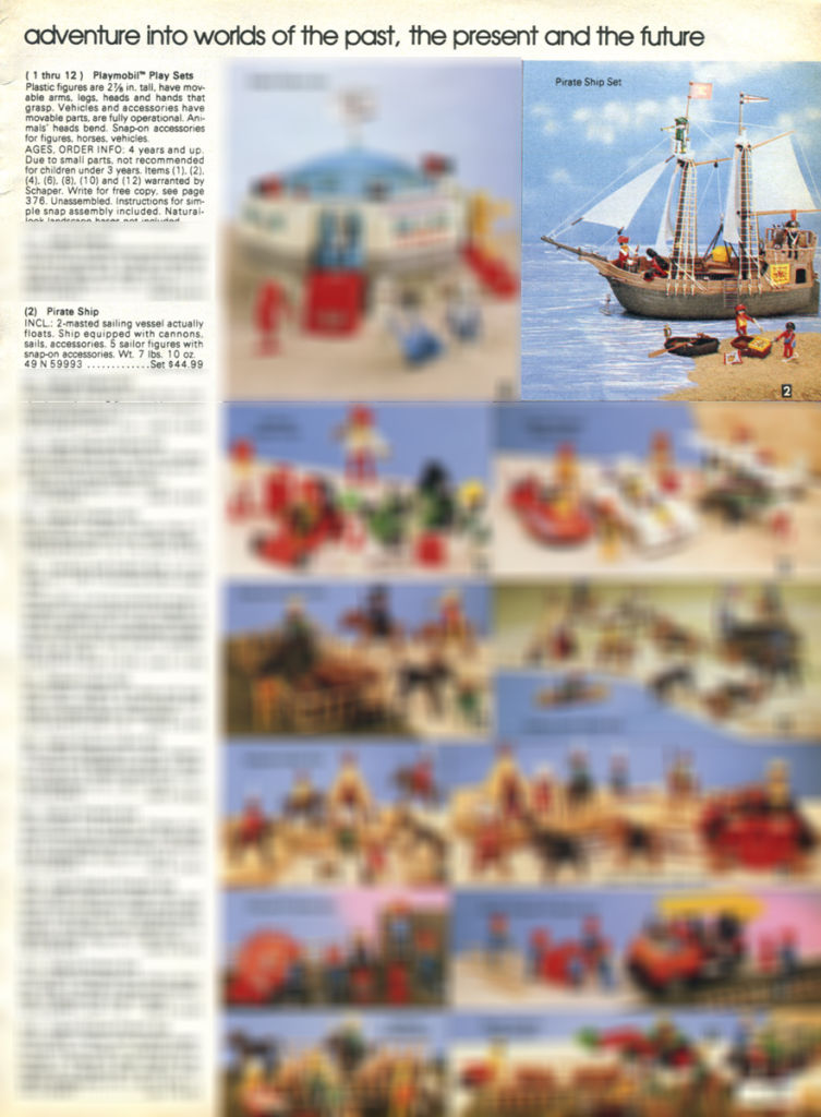 Playmobil 49-59993-sch - Pirate Ship - Back