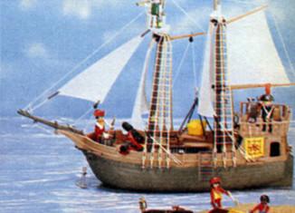 Playmobil - 49-59993-sch - Pirate Ship