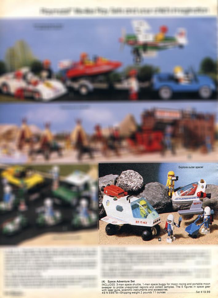 Playmobil 49-59978-sch - Space Adventure Super Deluxe - Back