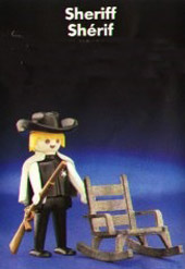 Playmobil 0000v1-sch - Sheriff - McDonald's - Back