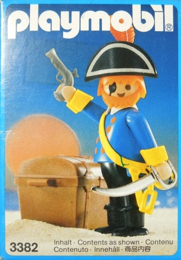 Playmobil 3382 - pirate captain - Box