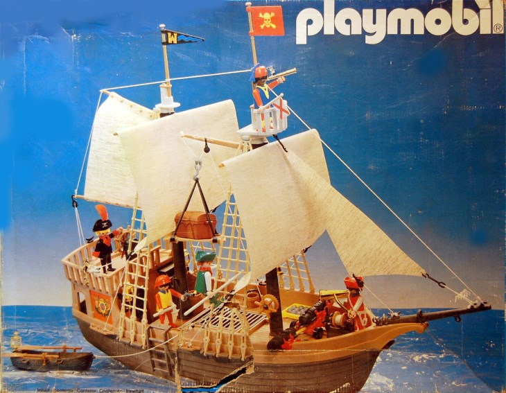 playmobil set 3550v2 pirate ship klickypedia. Black Bedroom Furniture Sets. Home Design Ideas