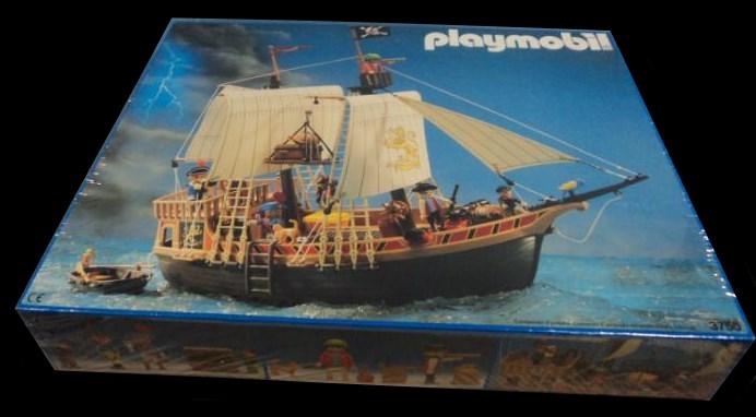 Playmobil 3750v1-esp - pirate ship - Box