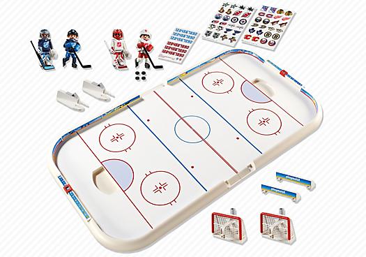Playmobil 5068-usa - NHL® Arena - Back