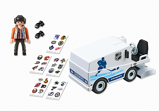 Playmobil 5069-usa - NHL® Zamboni® Machine - Back