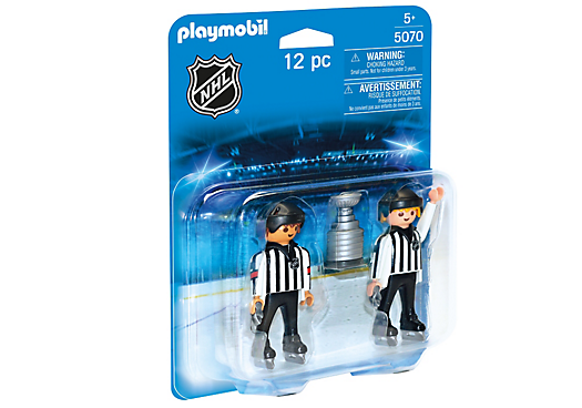 Playmobil 5070-usa - NHL® Referees with Stanley Cup® - Box