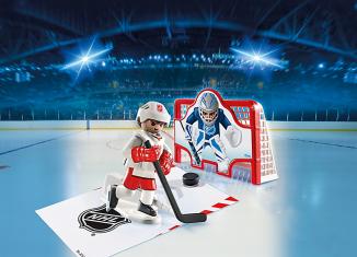 Playmobil - 5071-usa - NHL® Shooting Pad