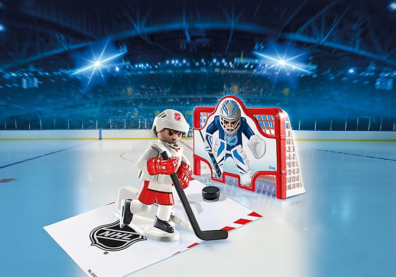 Playmobil 5071-usa - NHL® Shooting Pad - Back