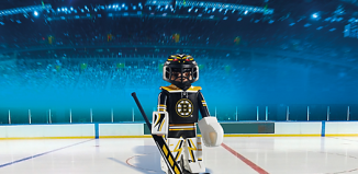 Playmobil - 5072-usa - NHL® Boston Bruins® Goalie