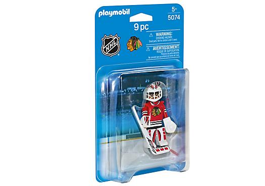 Playmobil 5074-usa - NHL® Chicago Blackhawks® Goalie - Box