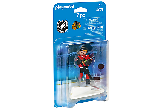 Playmobil 5075-usa - NHL® Chicago Blackhawks® Player - Box