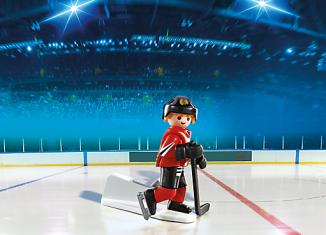 Playmobil - 5075-usa - NHL® Chicago Blackhawks® Player