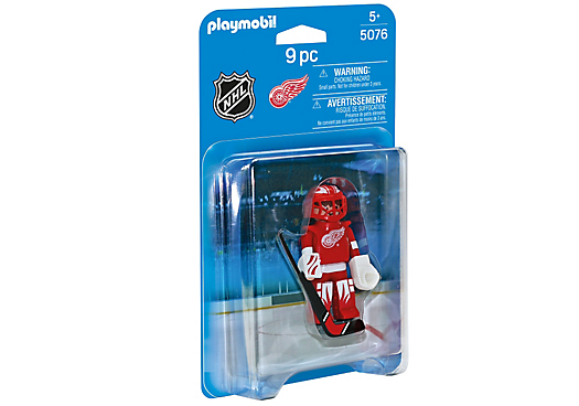 Playmobil 5076-usa - NHL® Detroit Red Wings® Goalie - Box