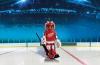 Playmobil - 5076-usa - NHL® Detroit Red Wings® Goalie