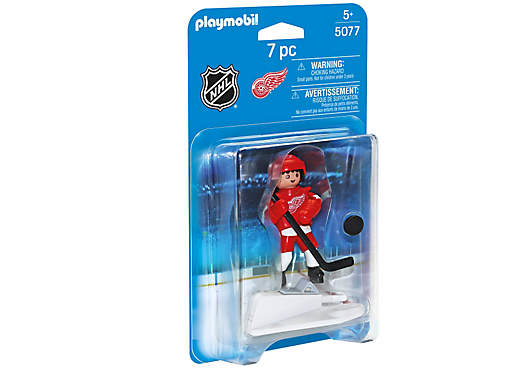 Playmobil 5077-usa - NHL® Detroit Red Wings® Player - Box