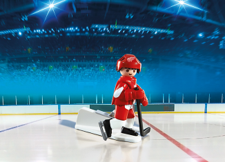 Playmobil - 5077-usa - NHL® Detroit Red Wings® Player