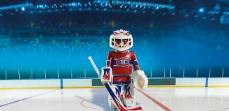 Playmobil - 5078-usa - NHL® Montreal Canadiens® Goalie