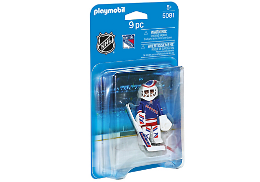 Playmobil 5081-usa - NHL® New York Rangers® Goalie - Caja
