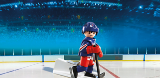 Playmobil - 5082-usa - NHL® New York Rangers® Player