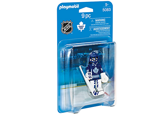 Playmobil 5083-usa - NHL® Toronto Maple Leafs® Goalie - Box