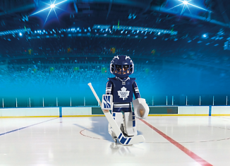 Playmobil - 5083-usa - NHL® Toronto Maple Leafs® Goalie