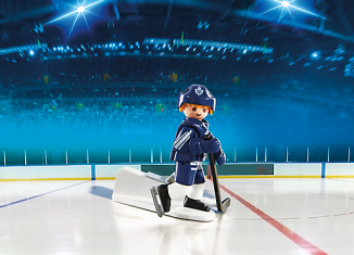 Playmobil - 5084-usa - NHL® Toronto Maple Leafs® Player