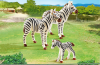 Playmobil - 6641 - Zebra family