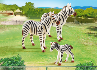 Playmobil - 6641 - Zebra family