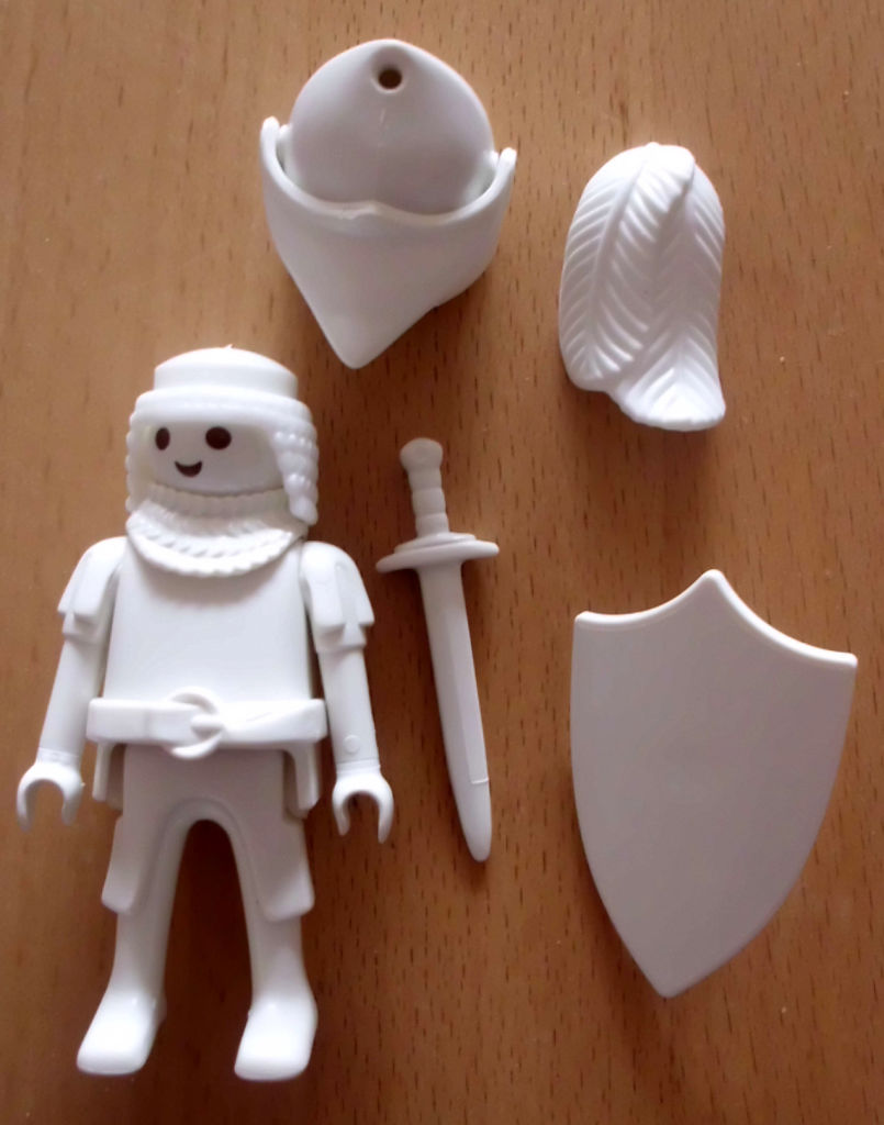 Playmobil 30790333-ger - White Knight - Back