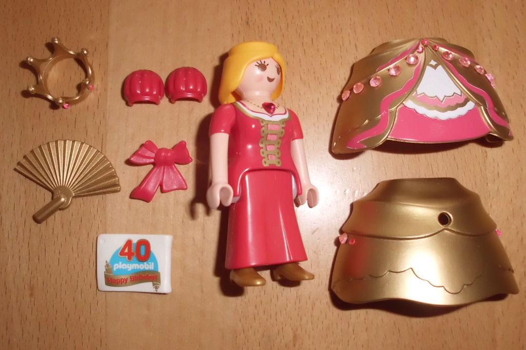 Playmobil 30791943-ger - Golden princess - Back