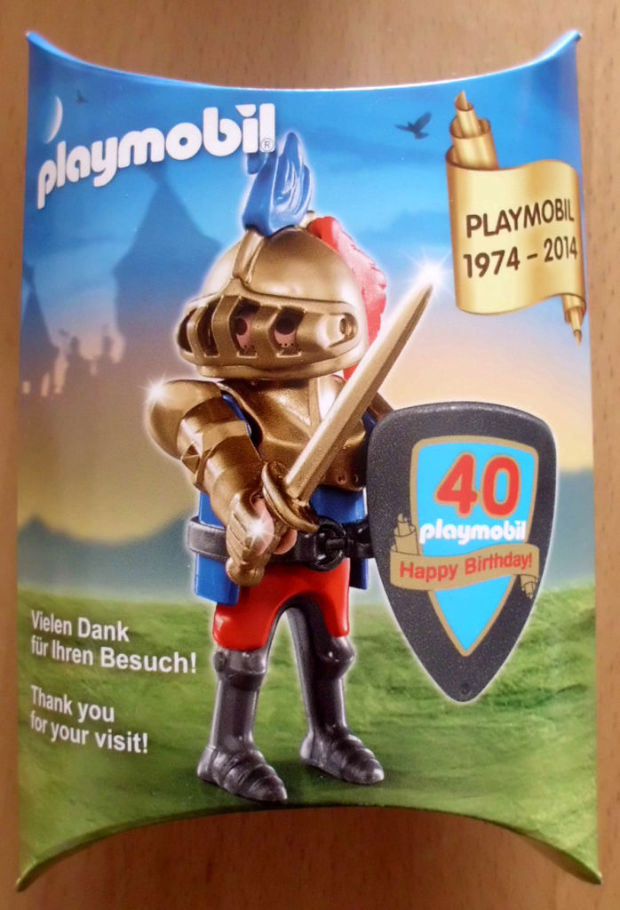 Playmobil 30791933-ger - Golden knight - Box