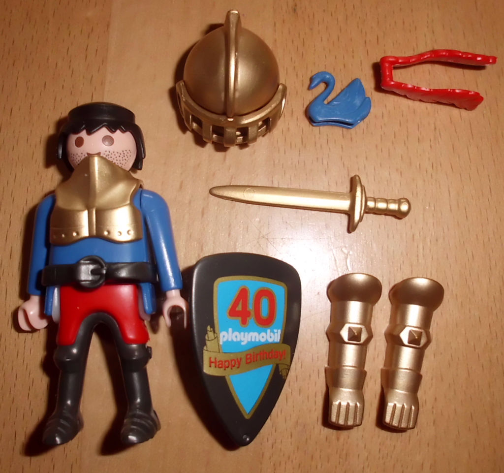 Playmobil 30791933-ger - Golden knight - Back