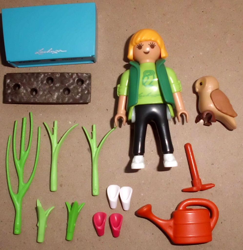 Playmobil 30793413-ger - LECHUZA Gardener - Back
