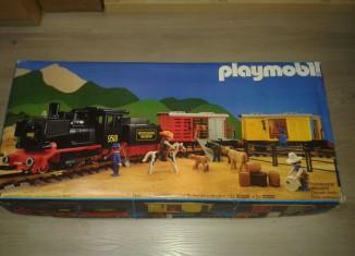 Playmobil - 4029-usa - Steam Freight Train Set