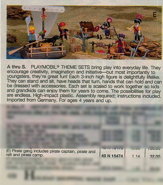 Playmobil 0000-usa - Pirate Gang - Box