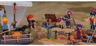 Playmobil - 0000-usa - Pirate Gang