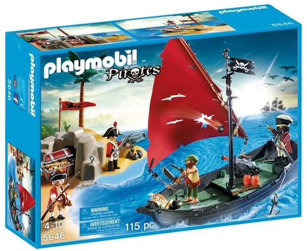 Playmobil 5646 - pirate club set - Box