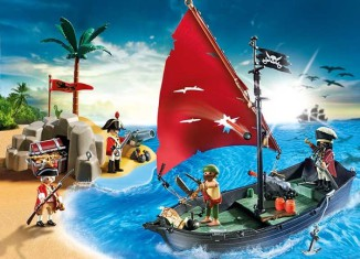 Playmobil - 5646 - pirate club set