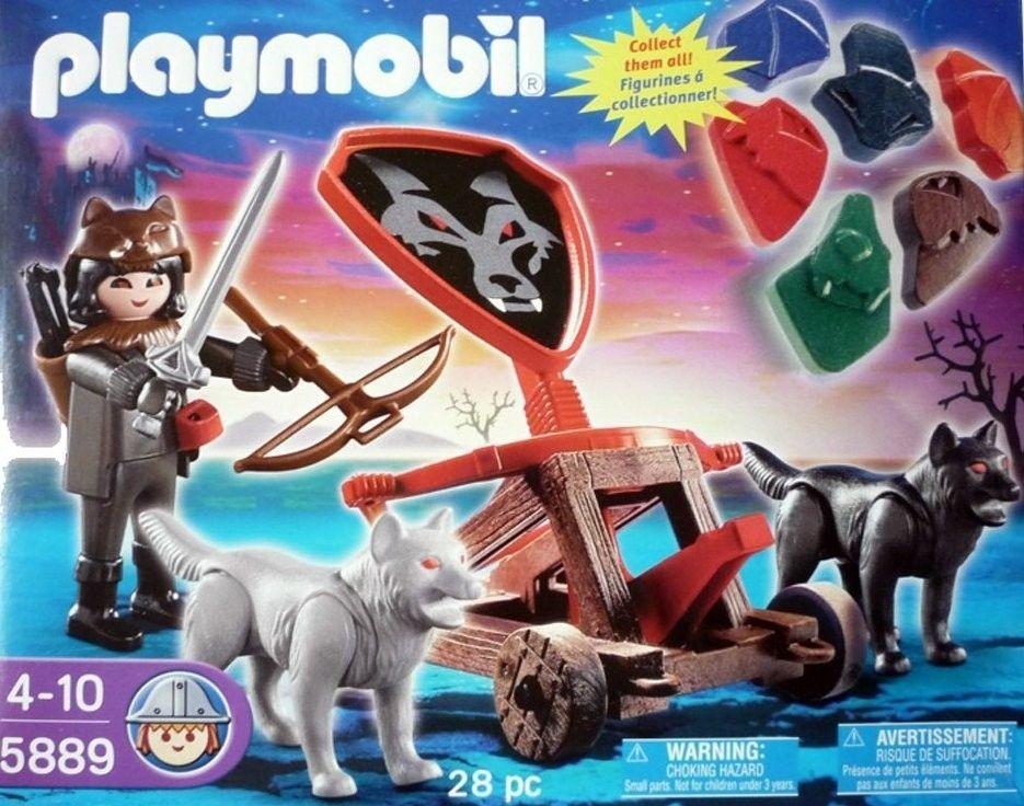 Playmobil 5889 - Wolf Knight & Fire catapult - Box