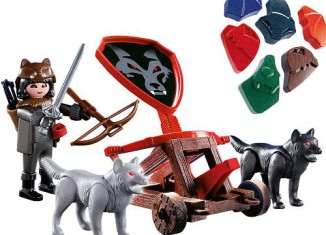 Playmobil - 5889 - Wolf Knight & Fire catapult