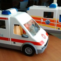 Playmobil - Ambulancia Guardacostas