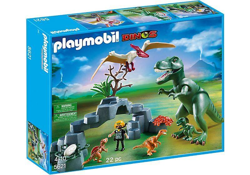Playmobil set 5621 dinos play set klickypedia - Dinosaur playmobile ...