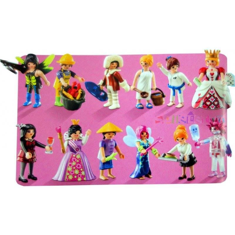 Playmobil 6841 - Figures Series 10 - Girls - Box