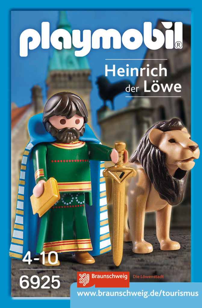 Playmobil 6925-ger - Henry the Lion - Box