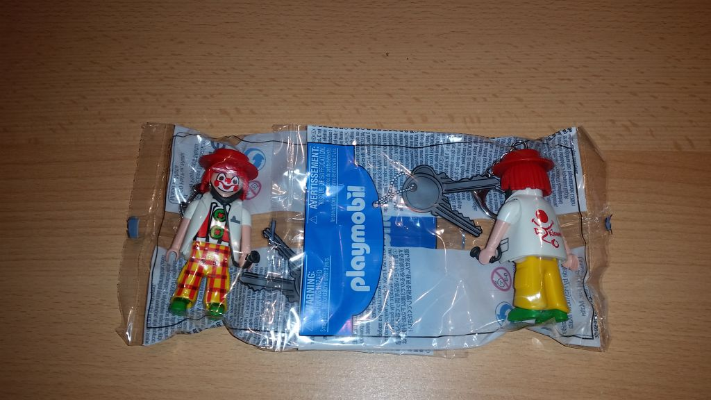 Playmobil NO-MALTA- - Dr. Klown - Box