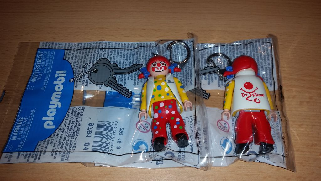 Playmobil NO-MALTA- - Dr. Klown - Back